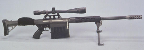 Light weight 50 BMG Rifle Anzio Ironworks specializes in high quality 50 BMG Rifles and Ammunition.