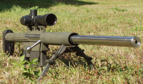 .338 Lapua Take-down Rifle