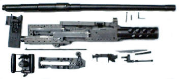 Browning M2 Parts - Anzio Ironworks specializes in high quality 50 BMG Rifles and Ammunition.