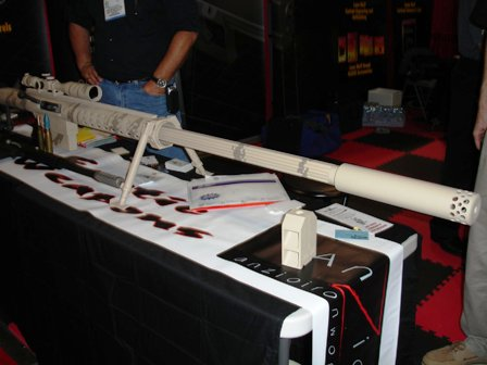 20mm with suppressor at 2007 Shot Show